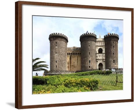 Maschio Angioino Castle (Castel Nuovo), Naples, Campania, Italy, Europe-Vincenzo Lombardo-Framed Art Print