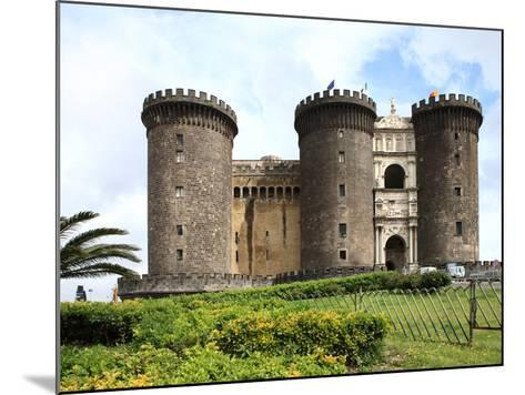 Maschio Angioino Castle (Castel Nuovo), Naples, Campania, Italy, Europe-Vincenzo Lombardo-Mounted Photographic Print