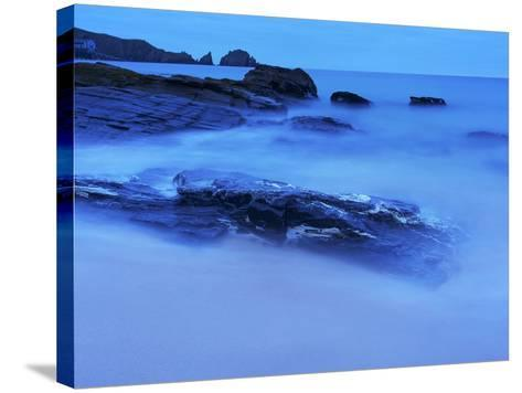 Mother Ivey's Bay, Cornwall, England, United Kingdom, Europe-Jeremy Lightfoot-Stretched Canvas Print