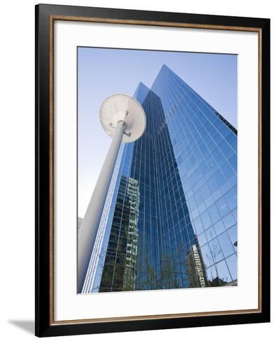 Skyscrapers in Downtown Phoenix, Arizona, United States of America, North America-Jean Brooks-Framed Art Print