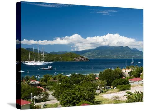 Le Bourg, Iles Des Saintes, Terre de Haut, Guadeloupe, West Indies, French Caribbean, France-Sergio Pitamitz-Stretched Canvas Print