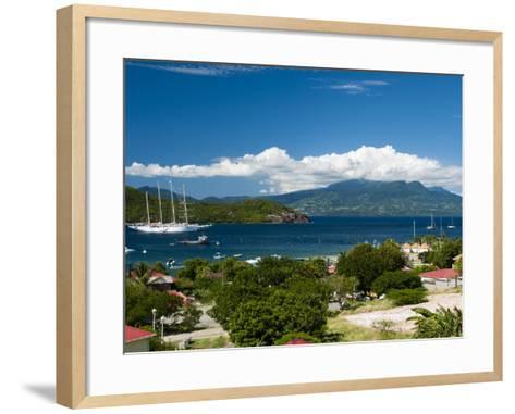 Le Bourg, Iles Des Saintes, Terre de Haut, Guadeloupe, West Indies, French Caribbean, France-Sergio Pitamitz-Framed Art Print