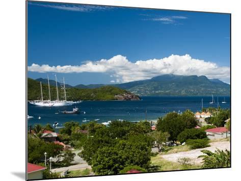 Le Bourg, Iles Des Saintes, Terre de Haut, Guadeloupe, West Indies, French Caribbean, France-Sergio Pitamitz-Mounted Photographic Print