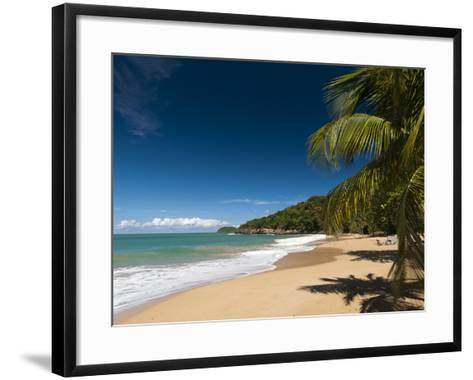 La Perle Beach, Deshaies, Basse-Terre, Guadeloupe, French Caribbean, France, West Indies-Sergio Pitamitz-Framed Art Print
