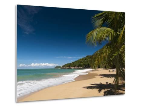 La Perle Beach, Deshaies, Basse-Terre, Guadeloupe, French Caribbean, France, West Indies-Sergio Pitamitz-Metal Print