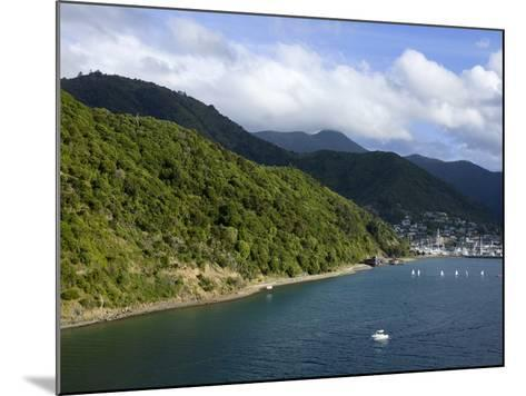 Queen Charlotte Sound, Picton, South Island, New Zealand, Pacific-Richard Cummins-Mounted Photographic Print