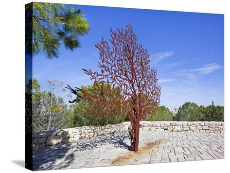 Yad Vashem Holocaust Memorial, Partisans Panorama Memorial Tree, Mount Herzl, Jerusalem, Israel-Gavin Hellier-Stretched Canvas Print
