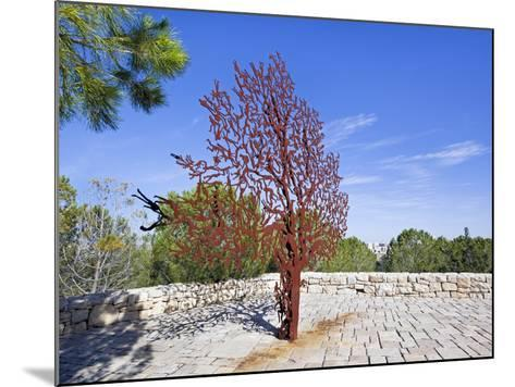Yad Vashem Holocaust Memorial, Partisans Panorama Memorial Tree, Mount Herzl, Jerusalem, Israel-Gavin Hellier-Mounted Photographic Print
