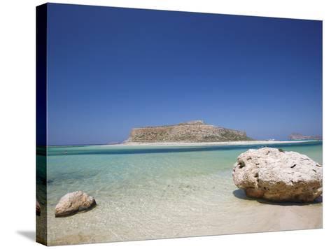Balos Bay and Gramvousa, Chania, Crete, Greek Islands, Greece, Europe-Sakis Papadopoulos-Stretched Canvas Print
