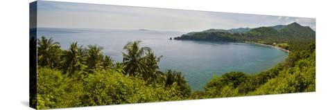 Magsit Bay Panorama, Lombok, Indonesia, Southeast Asia, Asia-Matthew Williams-Ellis-Stretched Canvas Print