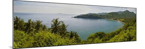 Magsit Bay Panorama, Lombok, Indonesia, Southeast Asia, Asia-Matthew Williams-Ellis-Mounted Photographic Print