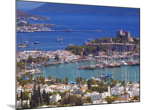The Harbour and the Castle of St. Peter, Bodrum, Anatolia, Turkey, Asia Minor, Eurasia-Sakis Papadopoulos-Mounted Photographic Print