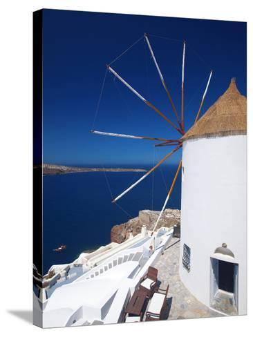 Oia, Santorini, Cyclades, Greek Islands, Greece, Europe-Sakis Papadopoulos-Stretched Canvas Print