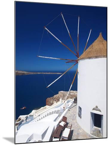 Oia, Santorini, Cyclades, Greek Islands, Greece, Europe-Sakis Papadopoulos-Mounted Photographic Print