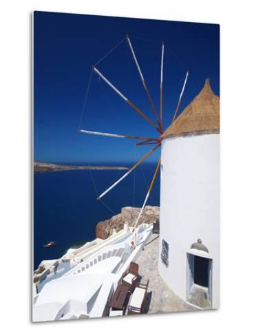 Oia, Santorini, Cyclades, Greek Islands, Greece, Europe-Sakis Papadopoulos-Metal Print