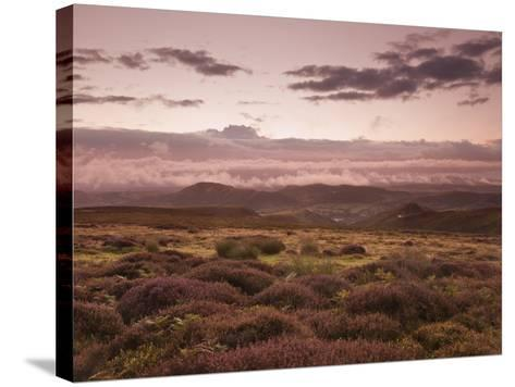 Dawn Above the Clouds on the Long Mynd Near Church Stretton, Shropshire, England, UK, Europe-Ian Egner-Stretched Canvas Print