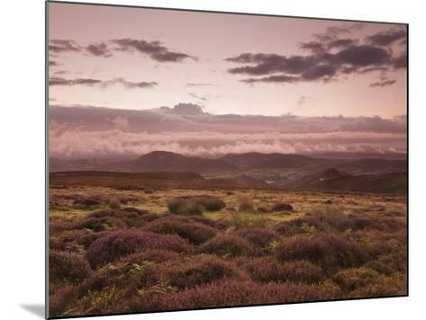 Dawn Above the Clouds on the Long Mynd Near Church Stretton, Shropshire, England, UK, Europe-Ian Egner-Mounted Photographic Print