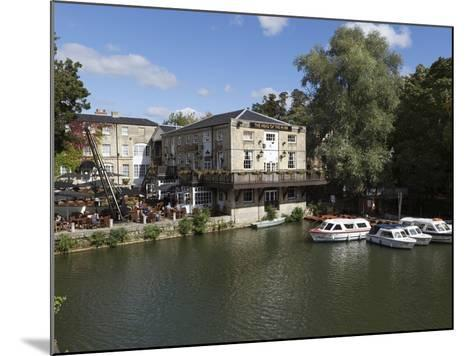 The Head of the River Pub Beside the River Thames, Oxford, Oxfordshire, England, UK, Europe-Stuart Black-Mounted Photographic Print