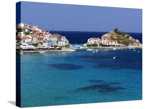 Kokkari, Samos, Aegean Islands, Greece-Stuart Black-Stretched Canvas Print