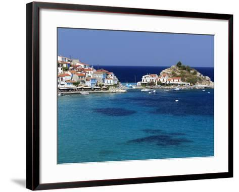 Kokkari, Samos, Aegean Islands, Greece-Stuart Black-Framed Art Print