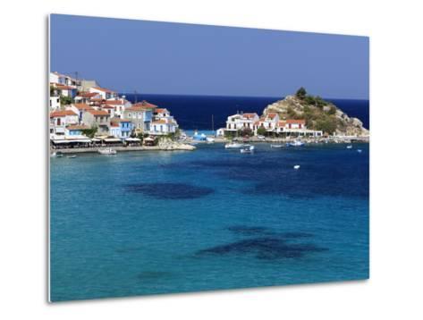 Kokkari, Samos, Aegean Islands, Greece-Stuart Black-Metal Print