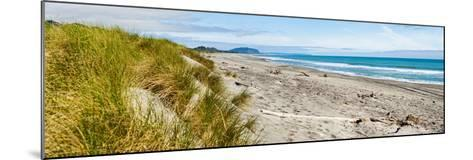 Panorama of Wild and Rugged Ross Beach, West Coast, South Island, New Zealand, Pacific-Matthew Williams-Ellis-Mounted Photographic Print