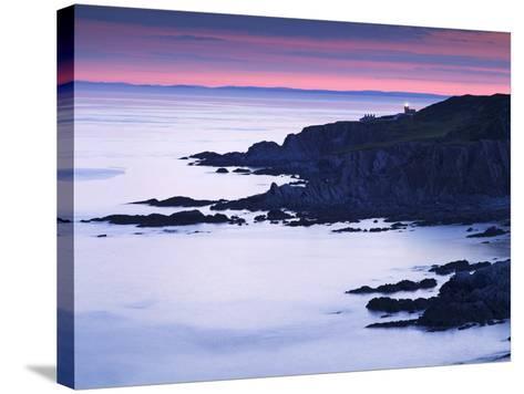 Bull Point, North Devon, Devon, England, United Kingdom, Europe-Jeremy Lightfoot-Stretched Canvas Print