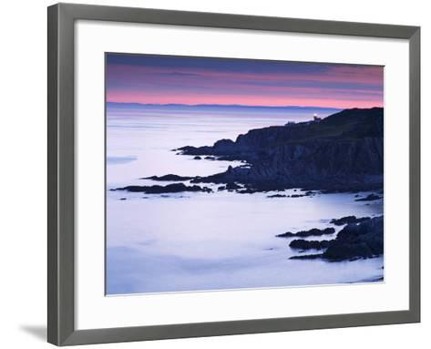 Bull Point, North Devon, Devon, England, United Kingdom, Europe-Jeremy Lightfoot-Framed Art Print