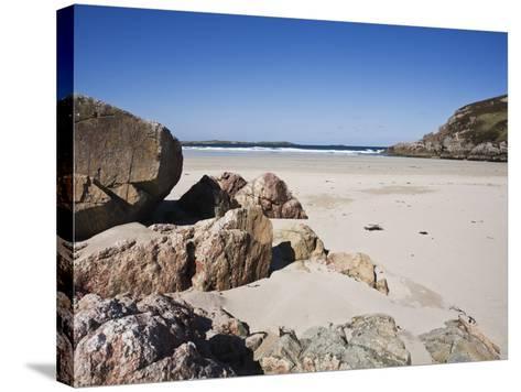 Ceannabeinne Bay, Near Durness, Sutherland, Scotland, United Kingdom, Europe-Jean Brooks-Stretched Canvas Print