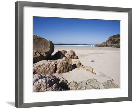 Ceannabeinne Bay, Near Durness, Sutherland, Scotland, United Kingdom, Europe-Jean Brooks-Framed Art Print