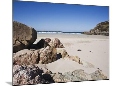 Ceannabeinne Bay, Near Durness, Sutherland, Scotland, United Kingdom, Europe-Jean Brooks-Mounted Photographic Print