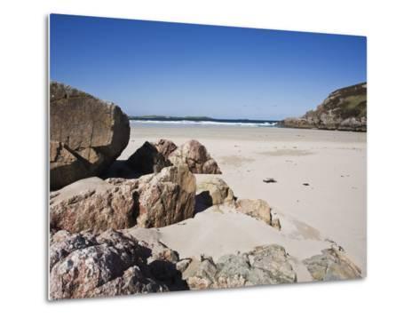 Ceannabeinne Bay, Near Durness, Sutherland, Scotland, United Kingdom, Europe-Jean Brooks-Metal Print