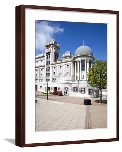 The Alhambra Theatre, City of Bradford, West Yorkshire, Yorkshire, England, United Kingdom, Europe-Mark Sunderland-Framed Art Print