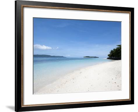 Beach, Manado, Sulawesi, Indonesia, Southeast Asia, Asia-Lisa Collins-Framed Art Print