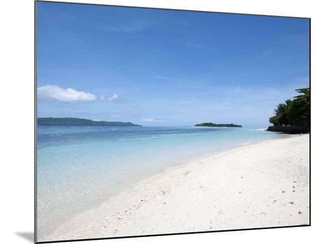 Beach, Manado, Sulawesi, Indonesia, Southeast Asia, Asia-Lisa Collins-Mounted Photographic Print