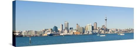 Panorama of the Auckland City Skyline, Auckland, North Island, New Zealand, Pacific-Matthew Williams-Ellis-Stretched Canvas Print