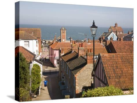 View over Rooftops to the North Sea, Aldeburgh, Suffolk, England, United Kingdom, Europe-Ian Murray-Stretched Canvas Print