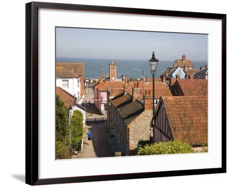 View over Rooftops to the North Sea, Aldeburgh, Suffolk, England, United Kingdom, Europe-Ian Murray-Framed Art Print