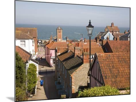 View over Rooftops to the North Sea, Aldeburgh, Suffolk, England, United Kingdom, Europe-Ian Murray-Mounted Photographic Print