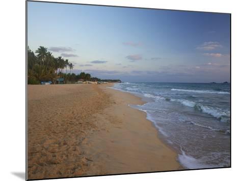 Sunrise on Nilaveli Beach, Trincomalee, Sri Lanka, Asia-Peter Barritt-Mounted Photographic Print