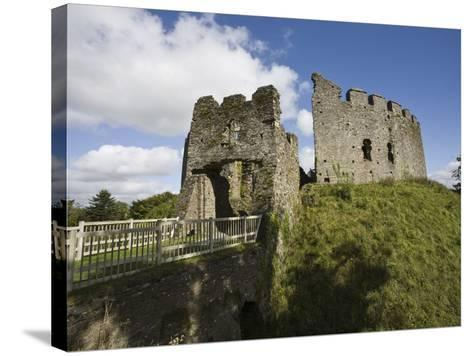 Restormel Castle, Cornwall, England, United Kingdom, Europe-Jean Brooks-Stretched Canvas Print