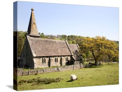 St. Andrews Church, Blubberhouses, North Yorkshire, Yorkshire, England, United Kingdom, Europe-Mark Sunderland-Stretched Canvas Print