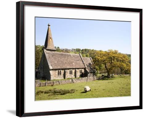 St. Andrews Church, Blubberhouses, North Yorkshire, Yorkshire, England, United Kingdom, Europe-Mark Sunderland-Framed Art Print