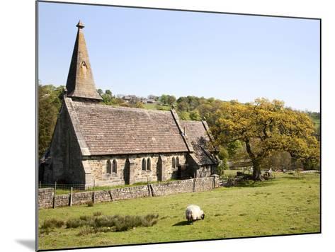 St. Andrews Church, Blubberhouses, North Yorkshire, Yorkshire, England, United Kingdom, Europe-Mark Sunderland-Mounted Photographic Print