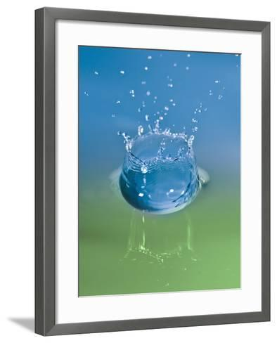 Falling Drops of Water-Antonio Busiello-Framed Art Print