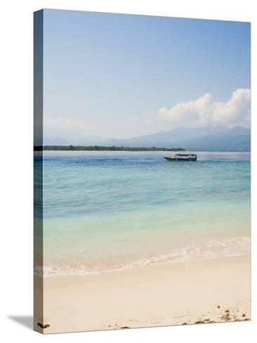 Traditional Indonesian Boat, Gili Meno, Gili Islands, Indonesia, Southeast Asia, Asia-Matthew Williams-Ellis-Stretched Canvas Print