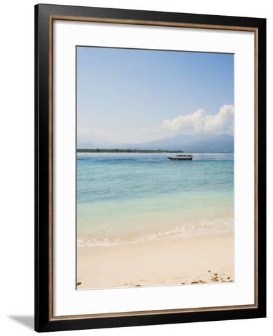 Traditional Indonesian Boat, Gili Meno, Gili Islands, Indonesia, Southeast Asia, Asia-Matthew Williams-Ellis-Framed Art Print