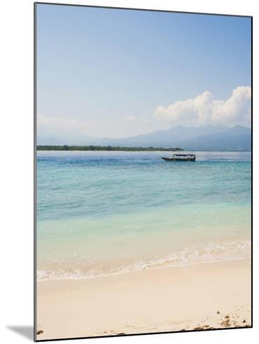 Traditional Indonesian Boat, Gili Meno, Gili Islands, Indonesia, Southeast Asia, Asia-Matthew Williams-Ellis-Mounted Photographic Print