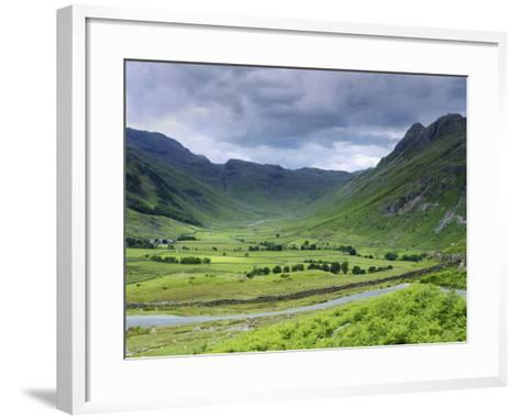 Langdale Pikes, Lake District National Park, Cumbria, England, United Kingdom, Europe-Jeremy Lightfoot-Framed Art Print