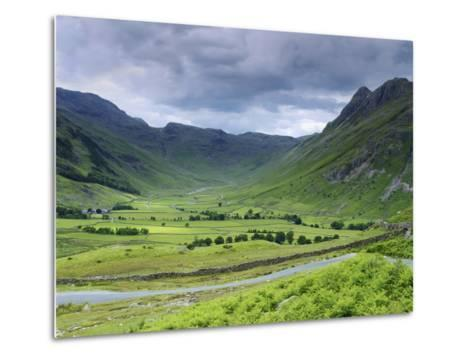 Langdale Pikes, Lake District National Park, Cumbria, England, United Kingdom, Europe-Jeremy Lightfoot-Metal Print